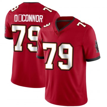 Youth Nike Tampa Bay Buccaneers Patrick O'Connor Red Team Color Vapor Untouchable Jersey - Limited