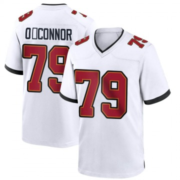 Youth Nike Tampa Bay Buccaneers Patrick O'Connor White Jersey - Game