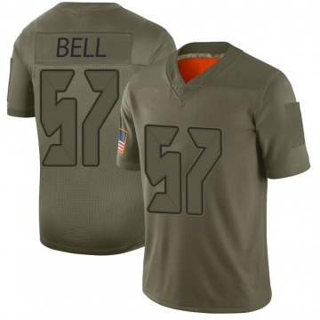 Youth Nike Tampa Bay Buccaneers Quinton Bell Camo 2019 Salute to Service Jersey - Limited