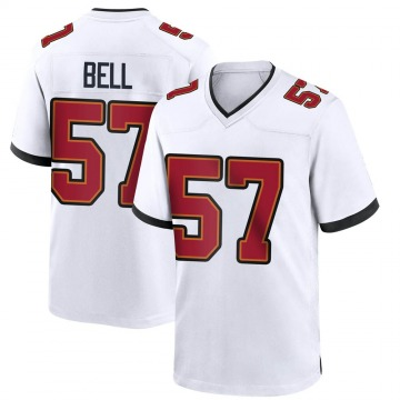 Youth Nike Tampa Bay Buccaneers Quinton Bell White Jersey - Game