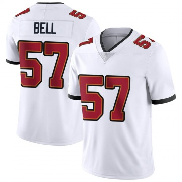 Youth Nike Tampa Bay Buccaneers Quinton Bell White Vapor Untouchable Jersey - Limited