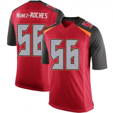 Youth Nike Tampa Bay Buccaneers Rakeem Nunez-Roches Red 100th Vapor Jersey - Limited