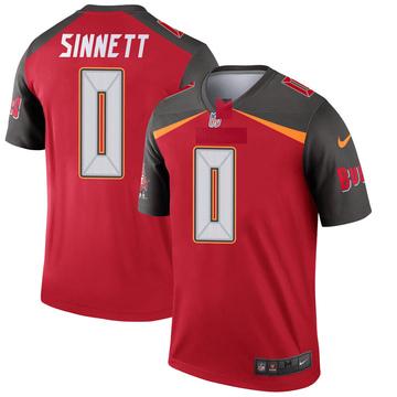 Youth Nike Tampa Bay Buccaneers Reid Sinnett Red Jersey - Legend