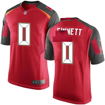 Youth Nike Tampa Bay Buccaneers Reid Sinnett Red Team Color Jersey - Game