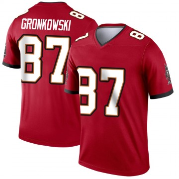 Youth Nike Tampa Bay Buccaneers Rob Gronkowski Red Jersey - Legend