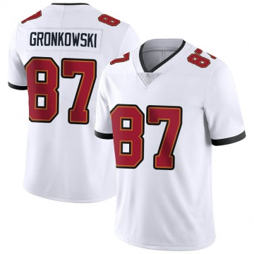 Youth Nike Tampa Bay Buccaneers Rob Gronkowski White Vapor Untouchable Jersey - Limited