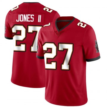 Youth Nike Tampa Bay Buccaneers Ronald Jones Red Team Color Vapor Untouchable Jersey - Limited