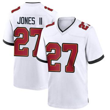 Youth Nike Tampa Bay Buccaneers Ronald Jones White Jersey - Game