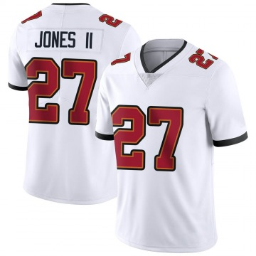 Youth Nike Tampa Bay Buccaneers Ronald Jones White Vapor Untouchable Jersey - Limited