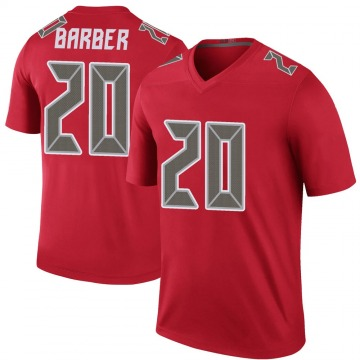 Youth Nike Tampa Bay Buccaneers Ronde Barber Red Color Rush Jersey - Legend