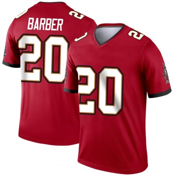 Youth Nike Tampa Bay Buccaneers Ronde Barber Red Jersey - Legend