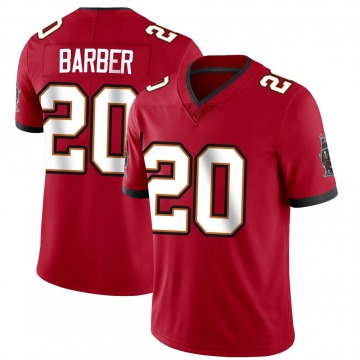 Youth Nike Tampa Bay Buccaneers Ronde Barber Red Team Color Vapor Untouchable Jersey - Limited
