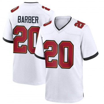 Youth Nike Tampa Bay Buccaneers Ronde Barber White Jersey - Game