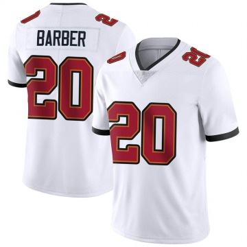 Youth Nike Tampa Bay Buccaneers Ronde Barber White Vapor Untouchable Jersey - Limited