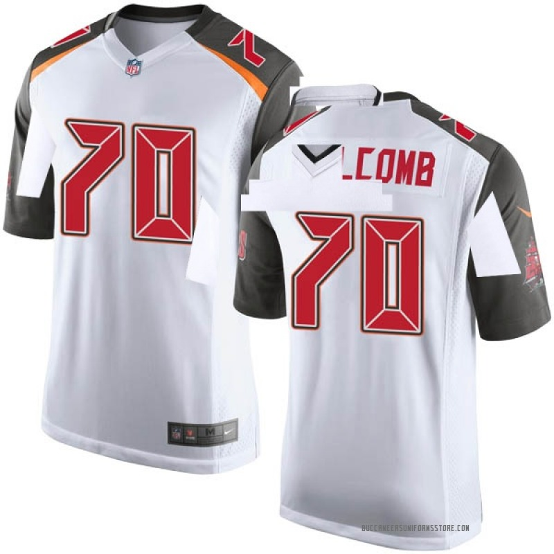 Youth Nike Tampa Bay Buccaneers Ruben Holcomb White Jersey Game  for cheap