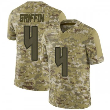 Youth Nike Tampa Bay Buccaneers Ryan Griffin Camo 2018 Salute to Service Jersey - Limited