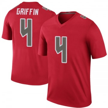 Youth Nike Tampa Bay Buccaneers Ryan Griffin Red Color Rush Jersey - Legend