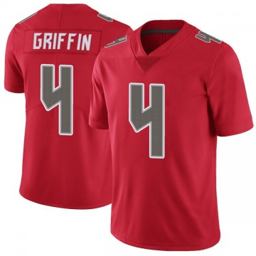 Youth Nike Tampa Bay Buccaneers Ryan Griffin Red Color Rush Jersey - Limited