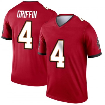 Youth Nike Tampa Bay Buccaneers Ryan Griffin Red Jersey - Legend