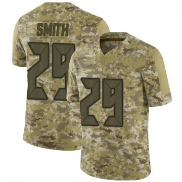 Youth Nike Tampa Bay Buccaneers Ryan Smith Camo 2018 Salute to Service Jersey - Limited
