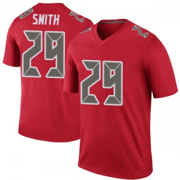 Youth Nike Tampa Bay Buccaneers Ryan Smith Red Color Rush Jersey - Legend