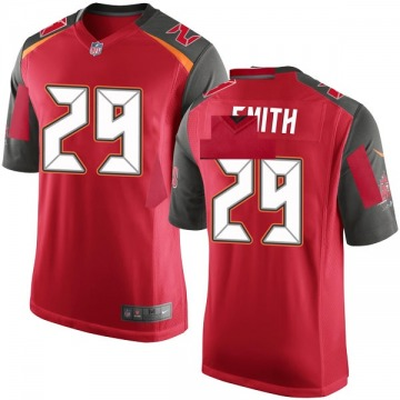 Youth Nike Tampa Bay Buccaneers Ryan Smith Red Team Color Jersey - Game