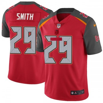 Youth Nike Tampa Bay Buccaneers Ryan Smith Red Team Color Vapor Untouchable Jersey - Limited