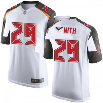 Youth Nike Tampa Bay Buccaneers Ryan Smith White Jersey - Game