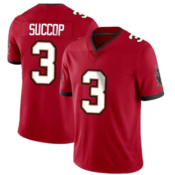 Youth Nike Tampa Bay Buccaneers Ryan Succop Red Team Color Vapor Untouchable Jersey - Limited