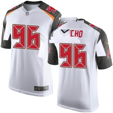 Youth Nike Tampa Bay Buccaneers Sam Acho White Jersey - Game