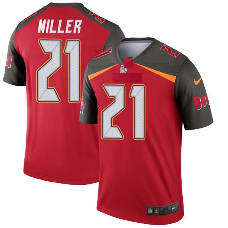 separation shoes d1885 75aba Youth Nike Tampa Bay Buccaneers Scott Miller Red Jersey - Legend