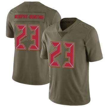Youth Nike Tampa Bay Buccaneers Sean Bunting Green 2017 Salute to Service Jersey - Limited