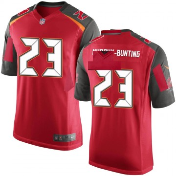 Youth Nike Tampa Bay Buccaneers Sean Bunting Red Team Color Jersey - Game