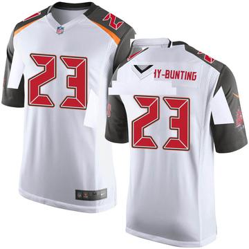 Youth Nike Tampa Bay Buccaneers Sean Bunting White Jersey - Game