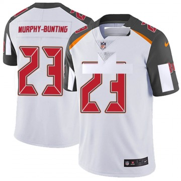 Youth Nike Tampa Bay Buccaneers Sean Bunting White Vapor Untouchable Jersey - Limited