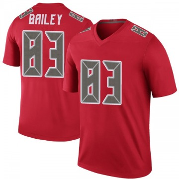 Youth Nike Tampa Bay Buccaneers Sergio Bailey Red Color Rush Jersey - Legend