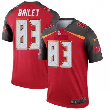 Youth Nike Tampa Bay Buccaneers Sergio Bailey Red Jersey - Legend