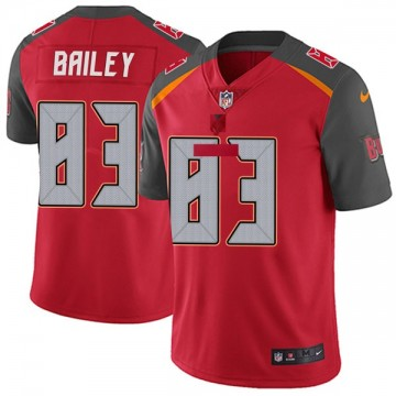 Youth Nike Tampa Bay Buccaneers Sergio Bailey Red Team Color Vapor Untouchable Jersey - Limited