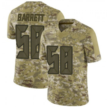 Youth Nike Tampa Bay Buccaneers Shaquil Barrett Camo 2018 Salute to Service Jersey - Limited