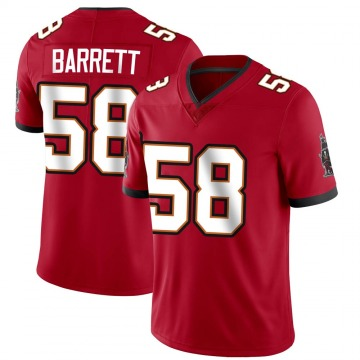 Youth Nike Tampa Bay Buccaneers Shaquil Barrett Red Team Color Vapor Untouchable Jersey - Limited
