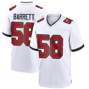 Youth Nike Tampa Bay Buccaneers Shaquil Barrett White Jersey - Game