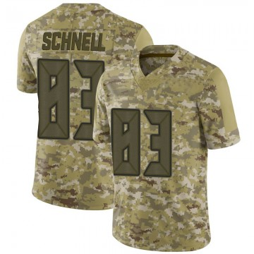 Youth Nike Tampa Bay Buccaneers Spencer Schnell Camo 2018 Salute to Service Jersey - Limited