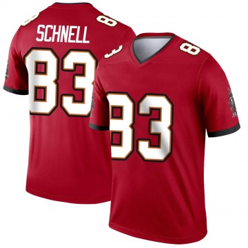 Youth Nike Tampa Bay Buccaneers Spencer Schnell Red Jersey - Legend