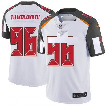 Youth Nike Tampa Bay Buccaneers Stevie Tu'ikolovatu White Vapor Untouchable Jersey - Limited