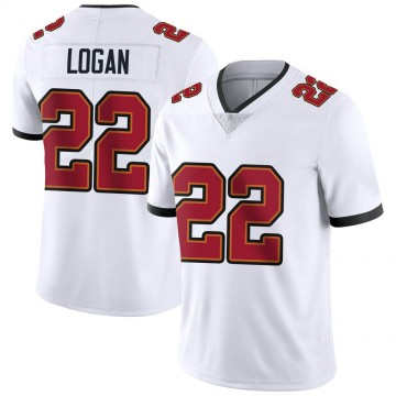 Youth Nike Tampa Bay Buccaneers T.J. Logan White Vapor Untouchable Jersey - Limited