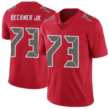 Youth Nike Tampa Bay Buccaneers Terry Beckner Jr. Red Color Rush Jersey - Limited