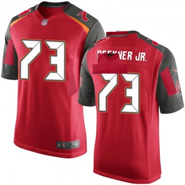 Youth Nike Tampa Bay Buccaneers Terry Beckner Jr. Red Team Color Jersey - Game