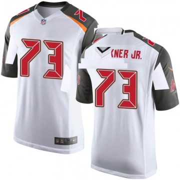 Youth Nike Tampa Bay Buccaneers Terry Beckner Jr. White Jersey - Game