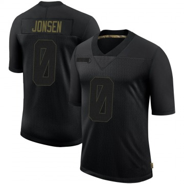 Youth Nike Tampa Bay Buccaneers Travis Jonsen Black 2020 Salute To Service Jersey - Limited