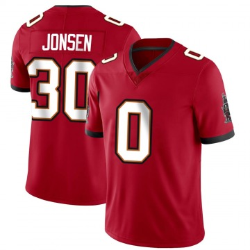 Youth Nike Tampa Bay Buccaneers Travis Jonsen Red Team Color Vapor Untouchable Jersey - Limited